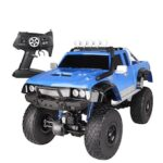 US Cause 1: 8 Pickup Climbing Racing Car Body Half A Meter High-speed Off-road Vehicle Remote Control Toy Car Charging Children