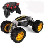 Off-road Dump 2.4G Remote Control Car Speed Car Stunt Distortion Deformation Of The Torsion Climbing Vehicle Four-wheel Drive Vehicle Charging Model