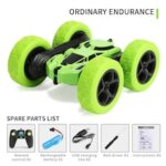 Double Sided 360 Rotation Tumbler Twister Stunt Car 2.4g Battery Charged  Fall Resistant Light Remote Control Car for Children