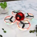 Mini Light UAV HD Aerial Photo of Quadcopter Colorful Small Aircraft Wifi Transmission