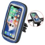 LEEHUR Waterproof Bike Phone Holder Bag Bicycle Handlebar Phone Stand Fit Under 6 inch Mobile Phones