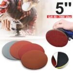 20pcs 125mm 5 inch Round Sanding Paper Disk Sand Sheets Sanding Disc Polish Grit 1000 1500 2000 3000 For abrasive tools