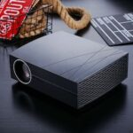 F20pro Projector Full HD 1080p 4800 Lumens Portable Smart Home Theater Projector Remote Control
