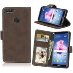 Card Slots Wallet Case Flip Cover PU Leather for Huawei P smart Enjoy 7S