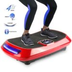 4D Exercise Vibration Fitness Massager LCD Display Vibrating Plate 1-99 Levels Training For Body Building Workout Equipment HWC