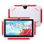 Excelvan  Q98 7 Inch  A50  Android 9.0 with 1GB RAM 16GB ROM Dual Camera WiFi USB Kids Software Edition  Kids Tablet PC    GMS  EU  White