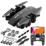 HD Image Transmission Aerial UAV Professional GPS RC Quadcopter Drone Long Battery Life Positioning Folding Remote Control Aircraft