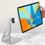 Magnetic Tablet Stand Metal Desktop Lazy Computer Mobile Phone Support Aluminum Alloy Notebook Support