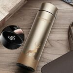 450ml Vacuum Thermos 24 Hours Insulation Intelligent Temperature Display Mug LED Touch Screen Water Bottle
