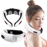 Smart Massager Multifunction Cervical Neck Shoulder Protection Electromagnetic Pulse Charging Physiotherapy English Packaging