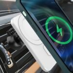 N16 Wireless Charger 15W Phone Holder Magnetic Vehicle for iPhone 12