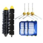 1368 Roller Brush Sweeping Robot Accessories Brush Filter 6 Set Suitable for iRobot