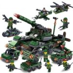 United Creativity Compatible With Lego Military Police Children's Puzzle Assembly Pluralant Granules Building Blocks Toys