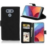 Card Slots Wallet Case Flip Cover PU Leather for LG G6 H870