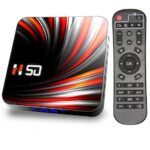 H50 TV Box Android 10 4GB DDR3 32GB 64GB Andriod TV Box 4k 2.4G 5.8G WIFI Support YouTube Smart TV Box Android