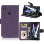 Card Slots Wallet Case Flip Cover PU Leather for BQ Aquaris X/X Pro