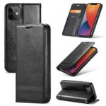 Magnetic Leather Case for iPhone 12 11 Pro Max X XS XS Max XR 7 7plus 8 8plus 6 6S Plus SE Card Holder / Stand Cases with Strap Solid Colored Cover