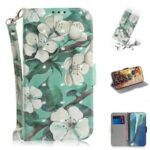 TX Leather Card Slot Design 3D Color Painting Flip Case for Samsung Galaxy S10Plus Note10Pro  Note 20Ultra A71