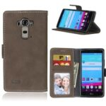 Card Slots Wallet Case Flip Cover PU Leather for LG G4 H811 H810 LS991