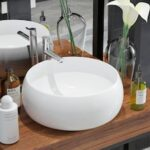 Ceramic Round Washbasin 40 x 15 cm