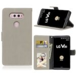 Card Slots Wallet Case Flip Cover PU Leather for LG V20 LS997