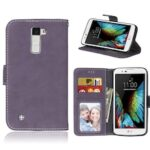 Card Slots Wallet Case Flip Cover PU Leather for LG K10 2017 LV5