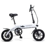 20/26Inch Folding Electric Bike Power Assist Electric Bicycle Conjoined Rim Scooter 48V 10AH 350W Motor Mountain E-Bike