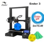 CREALITY 3D Printer Ender 3/Ender-3 pro DIY Kit Large Size I3 3D Ptinter Resume Power Failure Printing MeanWell Power