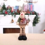 Christmas Small Doll Plaid Cloth Festival Decoration