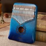 Thumb Piano 17-tone Kalimba Beginner Portable Small Musical Instrument