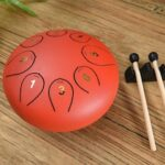 6-inch 8 Sound Empty Drum Steel Tongue Drum Color Empty Drum Forgetting The Drum Lotus Drum Factory Blow Musical Instrument