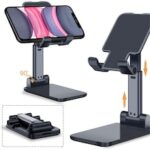 Mobile Phone Holder Stand Adjustable Desktop Tablet Universal Cell Phone Holder