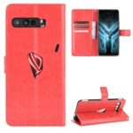 ASLING PU Leather Cover with Holder Wallet Card Storage Phone Case for Asus ROG Phone 3