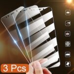 3PCS Tempered Glass Suitable for Redmi Note 9S 9Pro 9 Screen Protection Full Cover Film for Redmi Note 8 8T 8Pro POCO X3 F2 Pro
