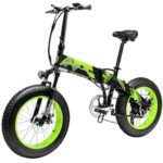 LANKELEISI X2000Plus Electric Bike Moped Bicycle 48V 10.4AH Battery 20in Tire 90KM Mileage