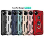 Luxury Car Magnetic Ring Armor Case for Google Pixel 4A 5 XL Phone Case for Google Pixel 3A XL 4 XL Stand Holder Back Cover
