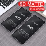Frosted Matte 9D Tempered Glass For Xiaomi POCO M3 X3 NFC F2pro Redmi Note 9 9S 9 Pro Anti-Fingerprint Screen Protector Protective Film