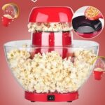 Household Large-capacity Machine Automatic Kitchen Appliance Popcorn Machine Popcorn Machine Gift Making Without Refueling