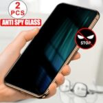 2 PCS Anti Spy Peep Tempered Glass on Xiaomi Redmi Note 9 8 Pro 9S 8T Poco X3 NFC F2 Pro Privacy Screen Protector