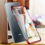 Luxury Plating Clear Soft TPU Silicone Case for Xiaomi Redmi Note 9S Note 9 Pro Max 8 8T 8Pro POCO X3 NFC Cover