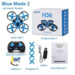 JJRC H36 H36F Mini Drone 2.4GHz 4CH 6-Axis Speed 3D Flip Headless Mode RC Drones Toy Gift Present RTF VS E010 H8 Mini