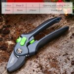 DTBD Plant Trim Horticulture Hand Pruner Cut Secateur Shrub Garden Scissor Tool Anvil Branch Shear Orchard Pruning Shears