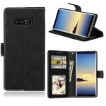 Card Slots Wallet Case Flip Cover PU Leather for Samsung Galaxy Note 8 N950F