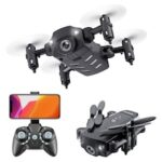 KK8 Mini Folding Drone 4K Aerial Display High Four-axis Aircraft Long Battery Remote Control Aircraft Toys