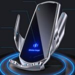 Q3 Car Wireless Charger Universal Mobile Phone Bracket Induction Open Automatic Navigation Stand