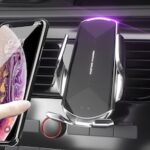 Q1 Car Mobile Phone Wireless Charger Bracket Automatic Sensing Opening and Closing