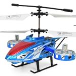 Children's Resistance-to-off Alloy Electric Light Charging Remote Control Aircraft 4.5 Channel Avan Side Flying Helicopter Toys
