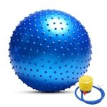 Anti-burst Yoga Ball Thickened Stability Balance Ball Pilates Physical Fitness Exercise Ball 55CM / 65CM / 75CM with Air Pump