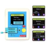 LCR-T7 LED Display Module Transistor Tester Full Color Screen Graphic Display ESR Table Multifunction Test