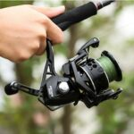 Spinning Wheel 5.2:1 4.9:1 Fishing Reel Max Drag 13Kg 8+1BB Carp 2000-6000 Aluminium Spool Spinning Reel